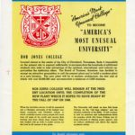1946 announcement that BJC would become a university and find a new campus.